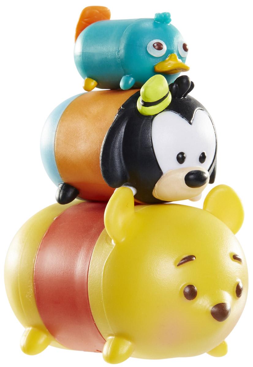 Tsum Tsum Набор фигурок Перри Гуфи Винни Пух980080_167/108/148_1Tsum Tsum - это небольшие коллекционные фигурки, изображающие различных персонажей детских мультфильмов Дисней. Они очень яркие, качественно сделаны и выглядят весьма привлекательно. В набор входят 3 фигурки разных размеров. Отличительной особенностью игрушек является то, что их можно сцеплять друг с другом, усаживая на спины - таким образом, у вас получится подобие оригинальной башенки. Соберите целую коллекцию фигурок! В наборе фигурки под номерами 167, 108, 148.