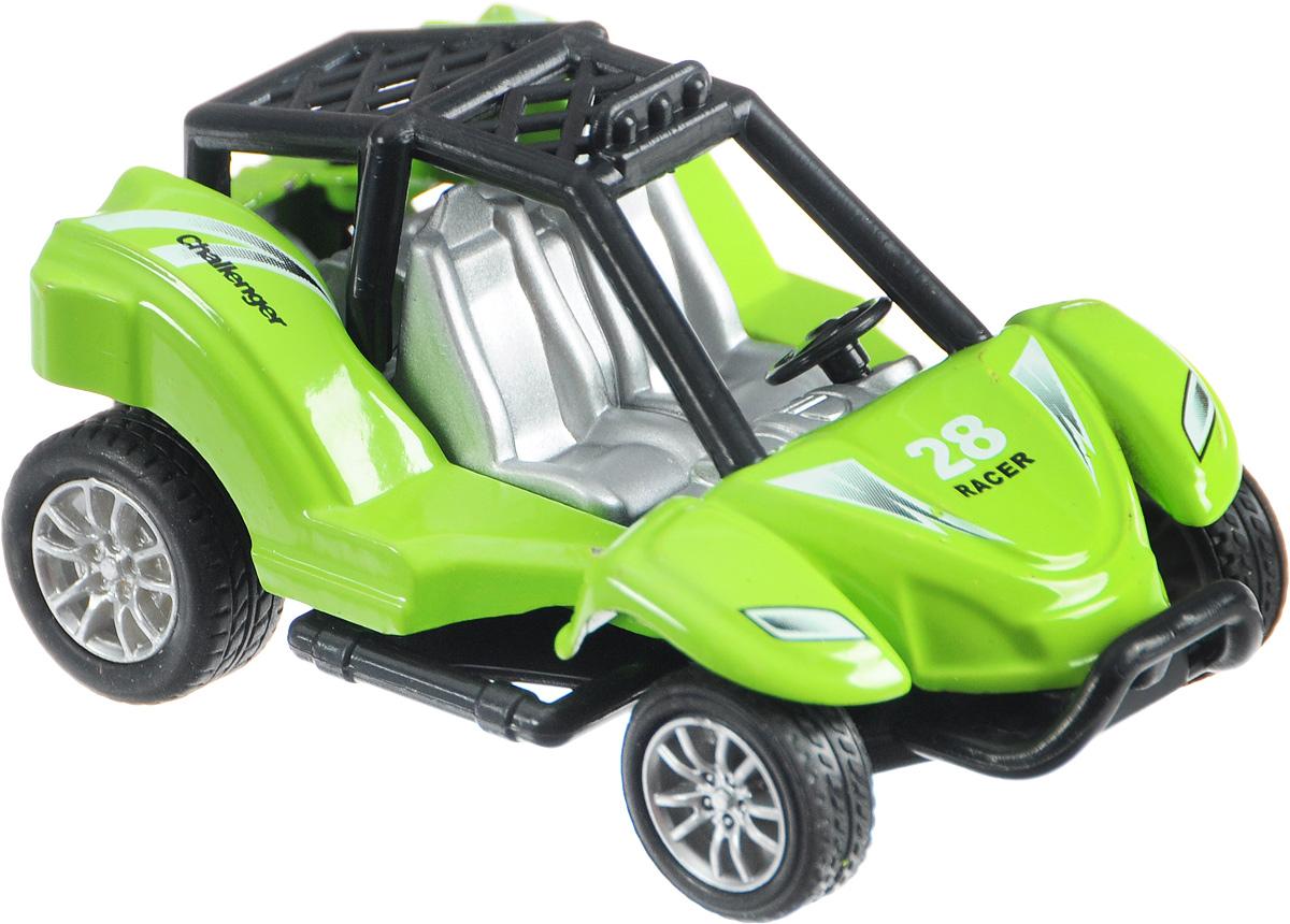 ТехноПарк Багги цвет зеленый6688-8-6Багги ТехноПарк станет любимой игрушкой вашего малыша. Это настоящий покоритель препятствий. Его огромные колеса помогают справляться с тяжелыми подъемами и неблагоприятными условиями для езды. Песок, лужи, камни - все это его не остановит. Металлический корпус выдержит непредвиденные падения и затруднения в пути.