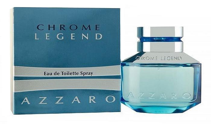 Azzaro Chrome Legend Туалетная вода мужская, 40 мл