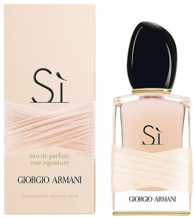 Giorgio Armani Si Rose Парфюмерная вода женская, 50 мл giorgio armani кеды signature