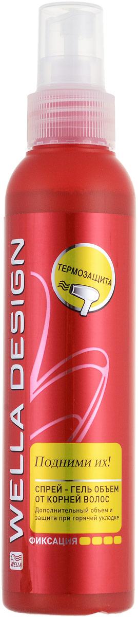 Спрей-гель для укладки волос Wella Design Boost It, супер-сильная фиксация, 150 мл