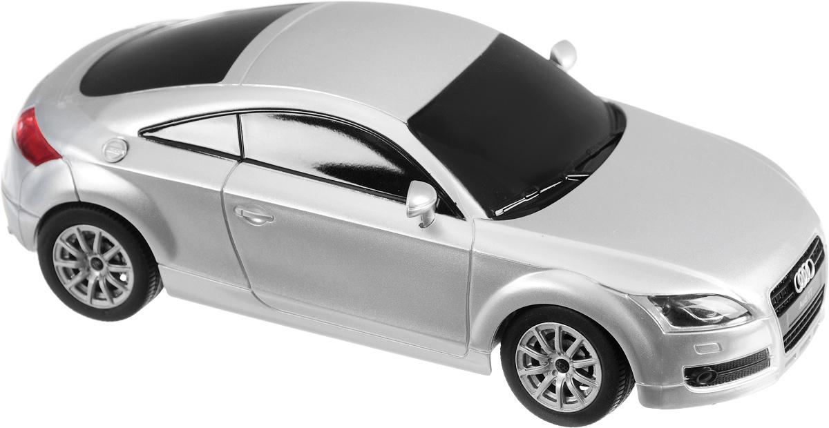 Rastar Радиоуправляемая модель Audi TT цвет серебристый