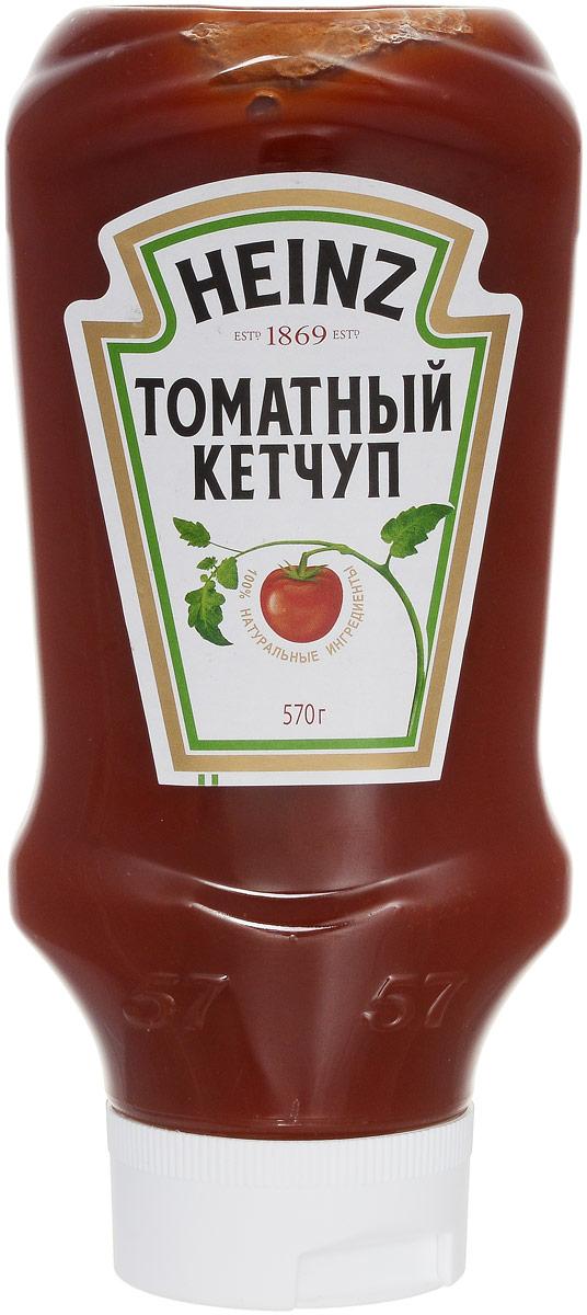 Heinz кетчуп Томатный Premium, 570 г (перевертыш) 76007580