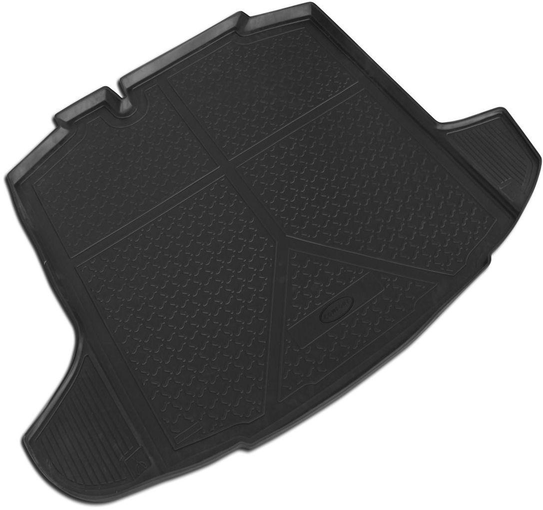 Ковер багажника Rival для Lada Vesta 2015-0016006002Автомобильные ковры багажника Rival Поддон багажника позволяет надежно защитить и сохранить от грязи багажный отсек вашего автомобиля на протяжении всего срока эксплуатации, полностью повторяют геометрию багажника. - Высокий борт специальной конструкции препятствует попаданию разлившейся жидкости и грязи на внутреннюю отделку. - Произведены из первичных материалов, в результате чего отсутствует неприятный запах в салоне автомобиля. - Рисунок обеспечивает противоскользящую поверхность, благодаря которой перевозимые предметы не перекатываются в багажном отделении, а остаются на своих местах. - Высокая эластичность, можно беспрепятственно эксплуатировать при температуре от -45 ?C до +45 ?C. - Изготовлены из высококачественного и экологичного материала, не подверженного воздействию кислот, щелочей и нефтепродуктов.