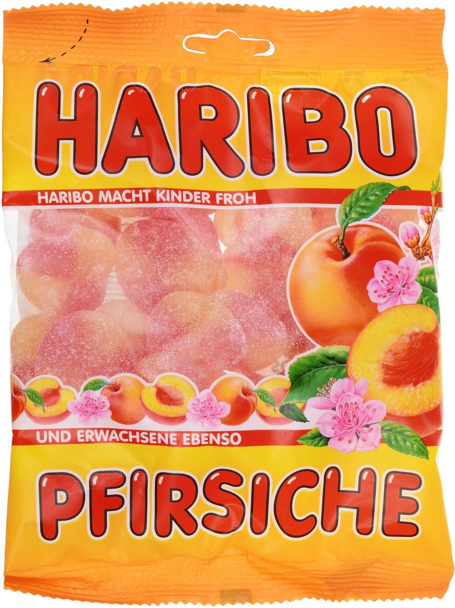 Haribo Персики жевательный мармелад, 200 г