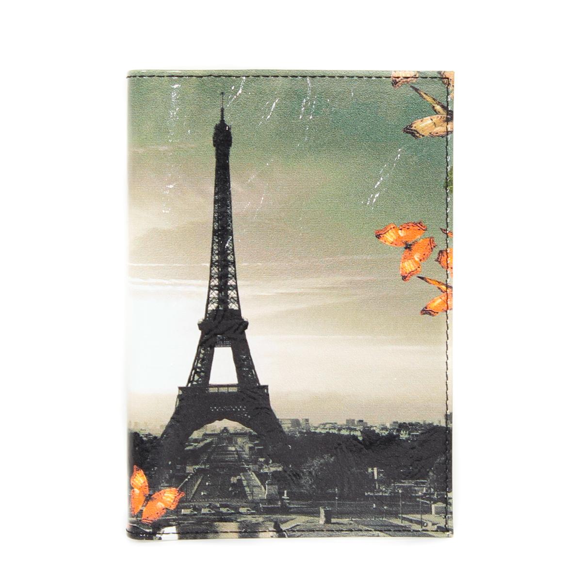 Обложка для паспорта женская Flioraj, цвет: мультиколор. 0005094800050948Удобная и практичная обложка для документов. Уникальный аксессуар, декорированный качественным фотопринтом.