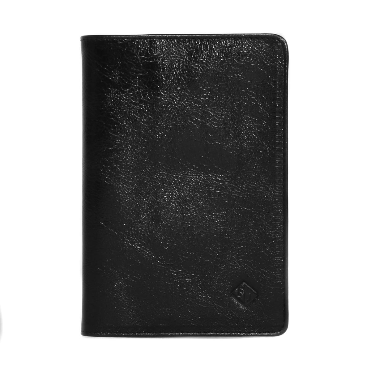 Обложка для паспорта женская Flioraj, цвет: черный. 0005111300051113Удобная и практичная обложка для документов.