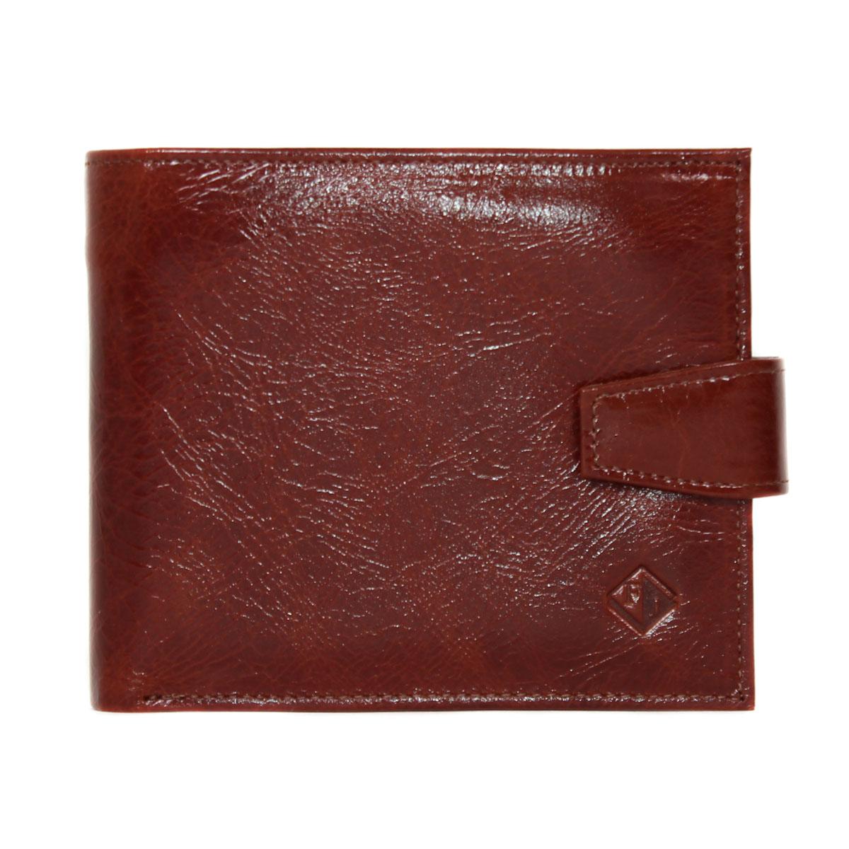 Портмоне мужское Flioraj, цвет: коричневый. 0005112500051125Внутри отделения для купюр, отделение для фото, кармашки для визиток и банковских карт.