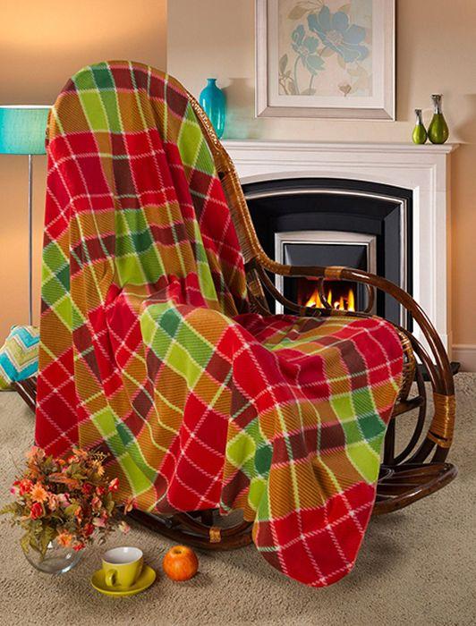 Покрывало Guten Morgen Торнадо, 150 х 200 смПФ-Тор-150-200Мягкое покрывало Guten Morgen, изготовленное из флиса (100% полиэстера), может стать не только красивым и практичным аксессуаром для интерьера вашей спальни, но и олицетворением уюта и теплоты вашего дома. Как приятно завернуться в теплое покрывало с чашечкой ароматного чая и скоротать за хорошей книгой долгий зимний вечер.