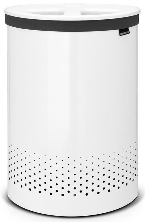 Бак для белья Brabantia, цвет: белый, 55 л. 105005105005Возможность сбора белья с одновременной сортировкой. Прочный стильный и практичный двухсекционный бак для белья превратит домашние хлопоты в удовольствие. Бак имеет крышку с двумя загрузочными отверстиями и съемный двухсекционный мешок из хлопковой легко стирающейся ткани с удобной застежкой на липучке. Два бака в одном – удобно, оригинально и компактно! - Белье загружается в бак с одновременной сортировкой. - Удобно закладывать и доставать белье – благодаря оригинальной конструкции крышку можно подвесить на верхнем ободе бака. - Всегда опрятный внешний вид – содержимое не видно из-под крышки. - Небольшие вещи можно закладывать, не открывая крышку, через загрузочное отверстие Quick-Drop. - Белье легко переносится к стиральной машине в съемном двухсекционном мешке из хлопковой легко стирающейся ткани. - Экономия места - устанавливается вплотную к стене или шкафу. - Удобно закладывать и доставать мешок для белья с креплением на липучке. - 10-летняя...