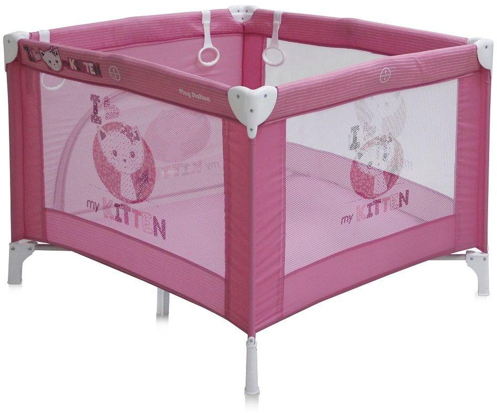 Lorelli Манеж Play Station цвет розовый