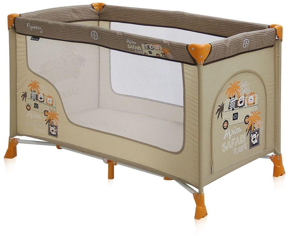 Lorelli Манеж-кроватка Nanny 1 цвет бежевый