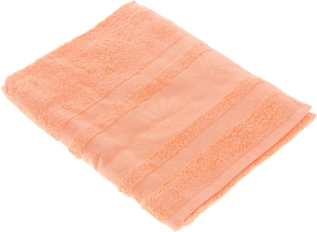 Полотенце Tete-a-Tete Цветы, цвет: персиковый, 50 х 90 смУП-005-03кМахровое полотенце Tete-a-Tete Цветы, изготовленное из натурального хлопка, подарит массу положительных эмоций и приятных ощущений. Полотенце отличается нежностью и мягкостью материала, утонченным дизайном и превосходным качеством. Линейка Цветы создавалась специально для женщин, она декорирована бордюром с растительным мотивом и выполнена в нежнейших тонах. Полотенце прекрасно впитывает влагу, быстро сохнет и не теряет своих свойств после многократных стирок. Махровое полотенце Tete-a-Tete Цветы станет прекрасным дополнением в дизайне ванной комнаты. Полотенце, упакованное в красивую коробку, может послужить отличной идеей подарка.