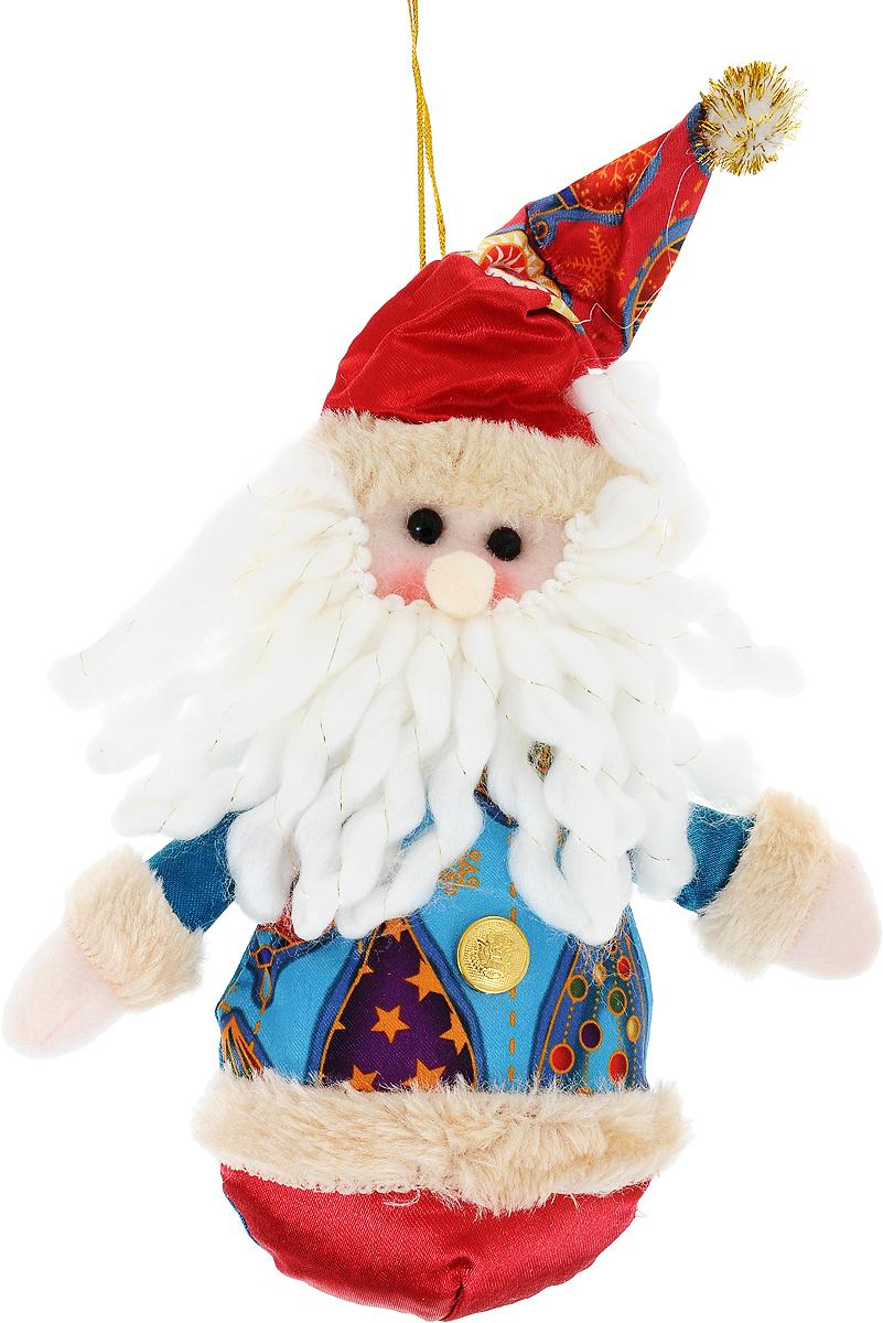 Украшение новогоднее подвесное Win Max Дед Мороз, высота 15 см175829Новогоднее подвесное украшение Win Max Дед Мороз прекрасно подойдет для праздничного декора новогодней ели. Изделие выполнено из текстиля и наполнено синтепоном. Для удобного размещения на елке для украшения предусмотрена петелька. Елочная игрушка - символ Нового года. Она несет в себе волшебство и красоту праздника. Создайте в своем доме атмосферу веселья и радости, украшая новогоднюю елку нарядными игрушками, которые будут из года в год накапливать теплоту воспоминаний.