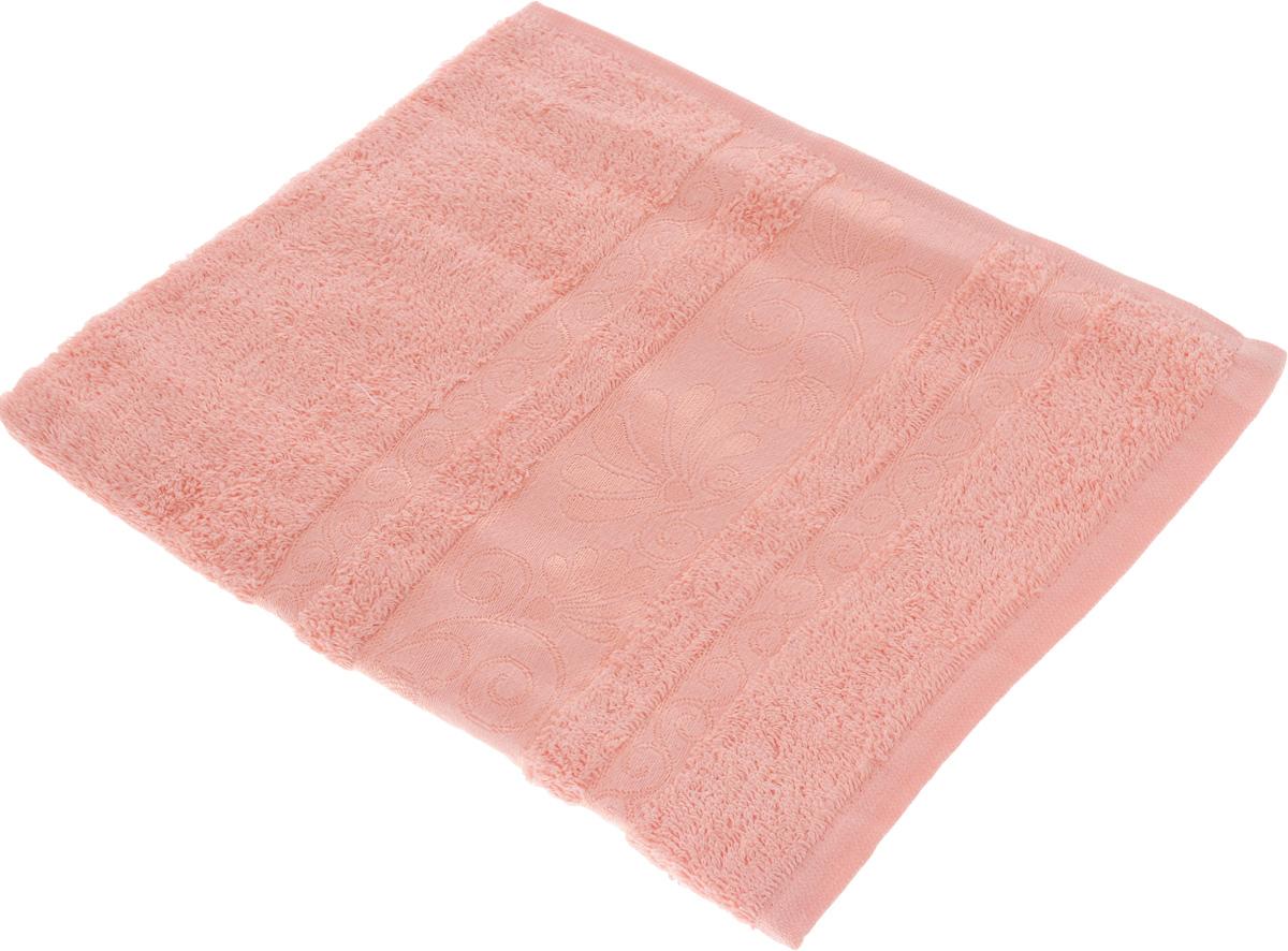 Полотенце Tete-a-Tete Цветы, цвет: светло-розовый, 50 х 90 см. УП-005УП-005-04Махровое полотенце Tete-a-Tete Цветы, изготовленное из натурального хлопка, подарит массу положительных эмоций и приятных ощущений. Полотенце отличается нежностью и мягкостью материала, утонченным дизайном и превосходным качеством. Линейка Цветы создавалась, специально для женщин, она декорирована бордюром с растительным мотивом и выполнена в нежнейших тонах. Полотенце прекрасно впитывает влагу, быстро сохнет и не теряет своих свойств после многократных стирок. Махровое полотенце Tete-a-Tete Цветы станет прекрасным дополнением в дизайне ванной комнаты.