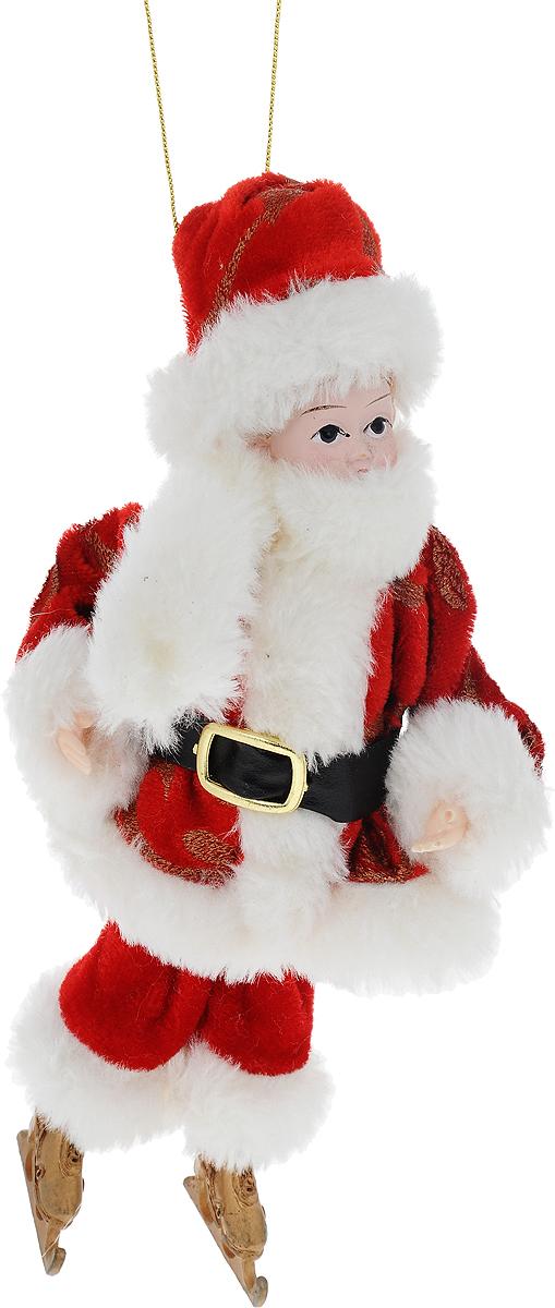 Украшение новогоднее подвесное Win Max Ангел, высота 20 см74886Новогоднее подвесное украшение Win Max Ангел прекрасно подойдет для праздничного декора вашего дома. Изделие выполнено из высококачественных материалов в виде мальчика, который одет в костюм Деда Мороза. С помощью специальной петельки украшение можно подвесить в любом понравившемся вам месте. Новогодние украшения несут в себе волшебство и красоту праздника. Они помогут вам украсить дом к предстоящим праздникам и оживить интерьер по вашему вкусу. Создайте в доме атмосферу тепла, веселья и радости, украшая его всей семьей.