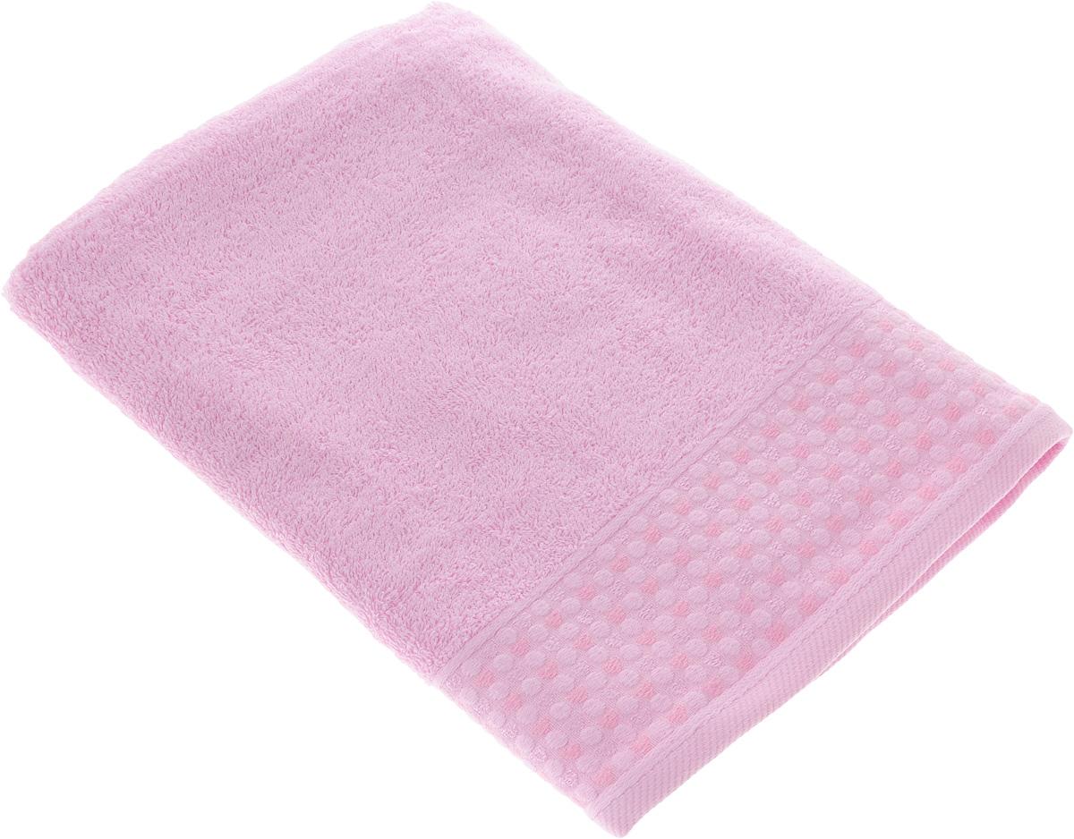 Полотенце Tete-a-Tete Сердечки, цвет: розовый, 70 х 140 смУП-008-04кМахровое полотенце Tete-a-Tete Сердечки, изготовленное из натурального хлопка, подарит массу положительных эмоций и приятных ощущений. Полотенце отличается нежностью и мягкостью материала, утонченным дизайном и превосходным качеством. Линейка Сердечки декорирована бордюром с сердечками и горошком, полотенце выполнено в пастельном тоне. Полотенце прекрасно впитывает влагу, быстро сохнет и не теряет своих свойств после многократных стирок. Махровое полотенце Tete-a-Tete Сердечки станет прекрасным дополнением в дизайне ванной комнаты. Полотенце, упакованное в красивую коробку, может послужить отличной идеей подарка.