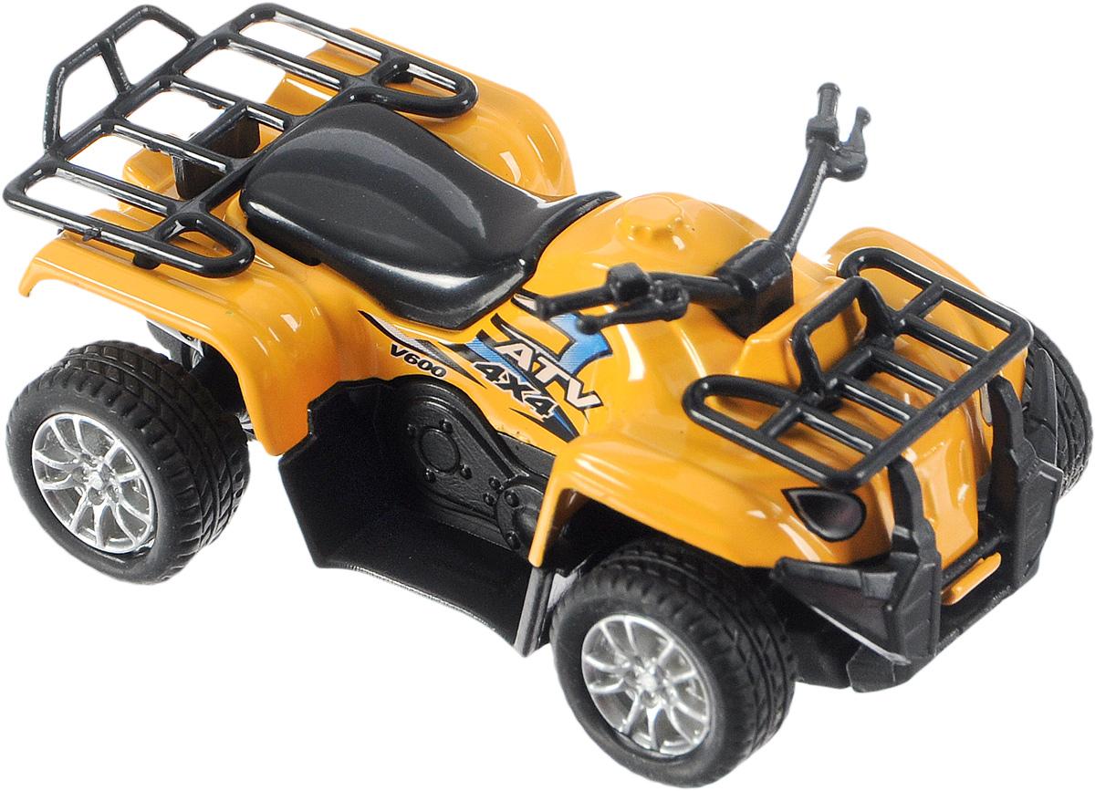ТехноПарк Квадроцикл цвет желтый