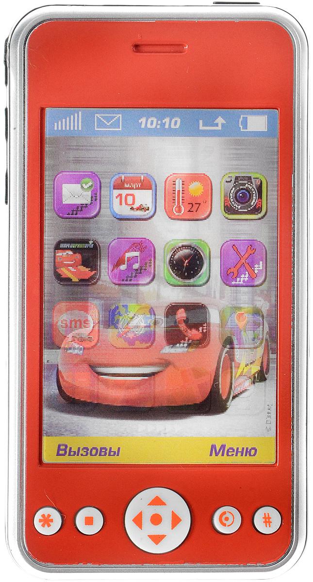 Играем вместе Игрушечный мобильный телефон Тачки