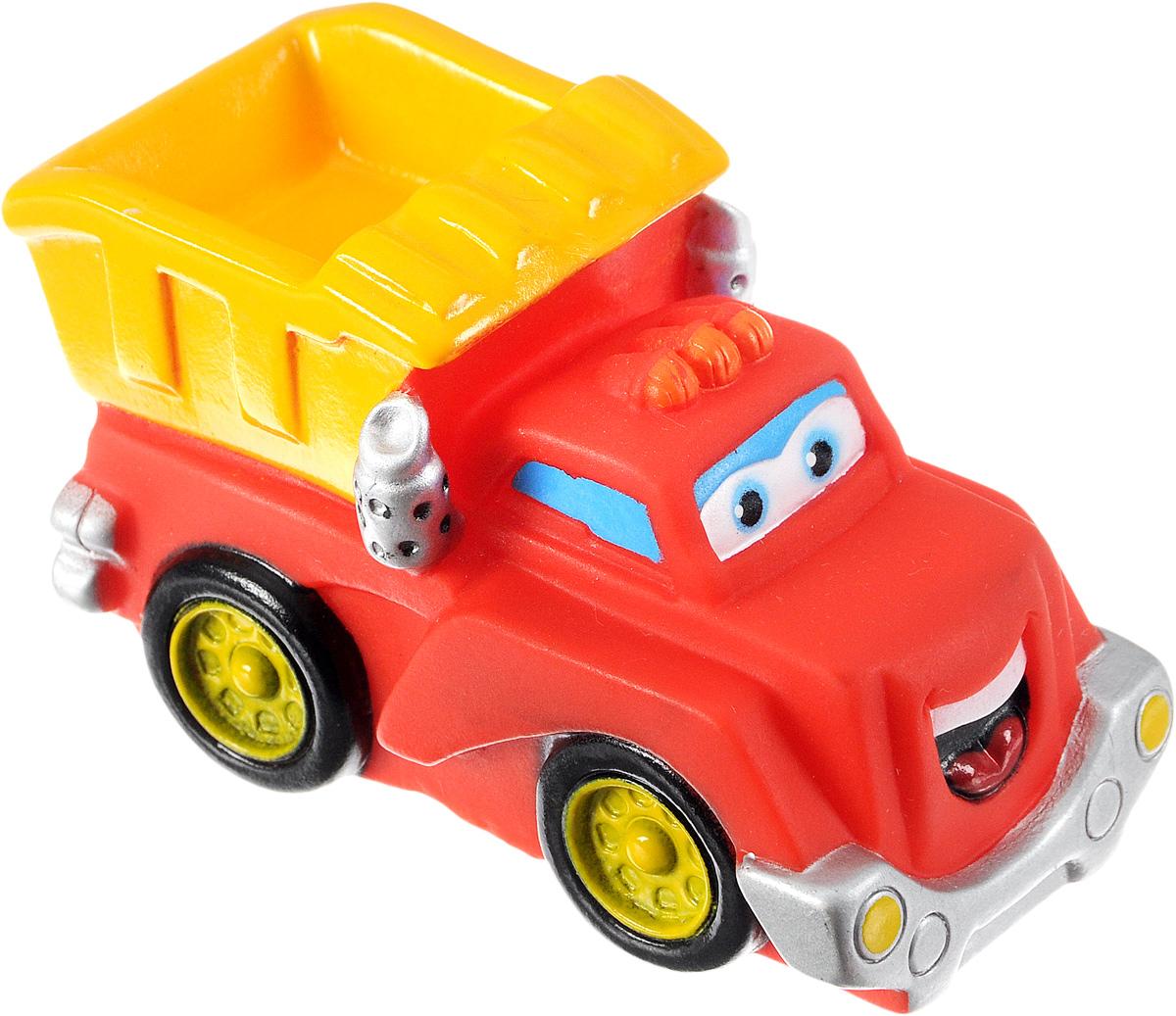 Играем вместе Игрушка для ванной Грузовичок Чак11R-LSИгрушка для ванной Играем вместе Грузовичок Чак - это замечательная игрушка, которая предназначена для игр в воде. Машинка может воспроизводить звуки, а также излучать свет, что делает игровой процесс еще более увлекательным. Нажав дно игрушки, можно услышать как она поет веселую песенку. Выполнена игрушка очень тщательно и качественно. Герметичный корпус защищает механизм и элементы питания от попадания воды, поэтому ребенок может смело опускать задорную игрушку в воду. Сделайте вашему малышу такой замечательный подарок!