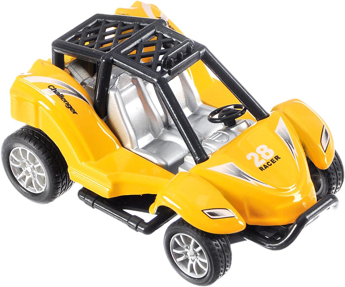 ТехноПарк Багги цвет желтый1749001_желтый/28 RacerБагги ТехноПарк станет любимой игрушкой вашего малыша. Игрушка представляет собой модель с большими колесами, которые оснащены свободным ходом. Ваш ребенок будет увлеченно играть с этой машинкой, придумывая различные истории. Порадуйте его таким замечательным подарком!