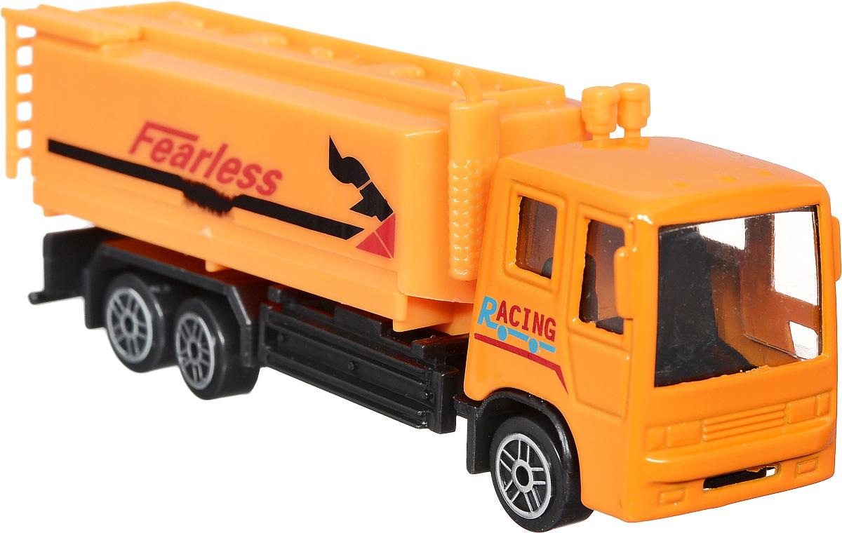 Shantou Бензовоз Fearless1602I006_FearlessБензовоз Shantou Fearless (Неустрашимый) готов мчаться по пыльным извилистым дорогам, преодолевая любые препятствия, чтобы вовремя доставить горючее всем нуждающимся. Брутальный бензовоз выполнен из металла и пластика, колеса машинки свободно вращаются. Этот бензовоз обязательно понравится любому мальчишке и станет достойным украшением коллекции машинок.