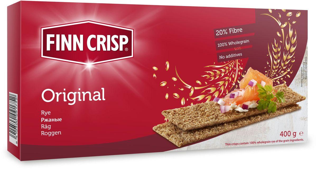 Finn Crisp Original хлебцы ржаные, 400 г