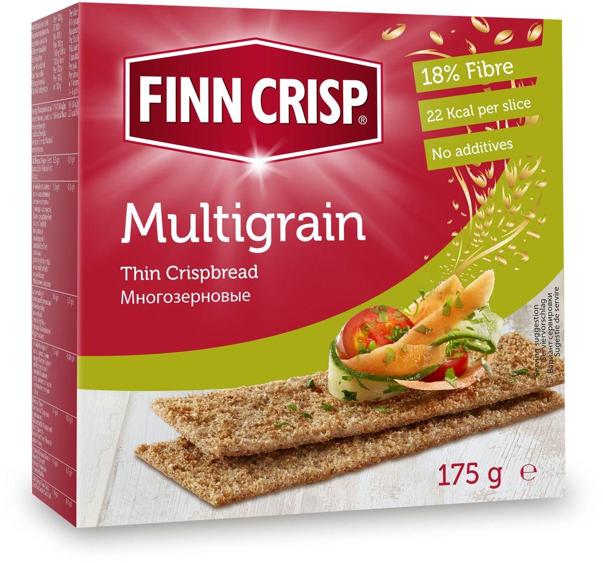 Finn Crisp Multigrain хлебцы многозерновые, 175 г