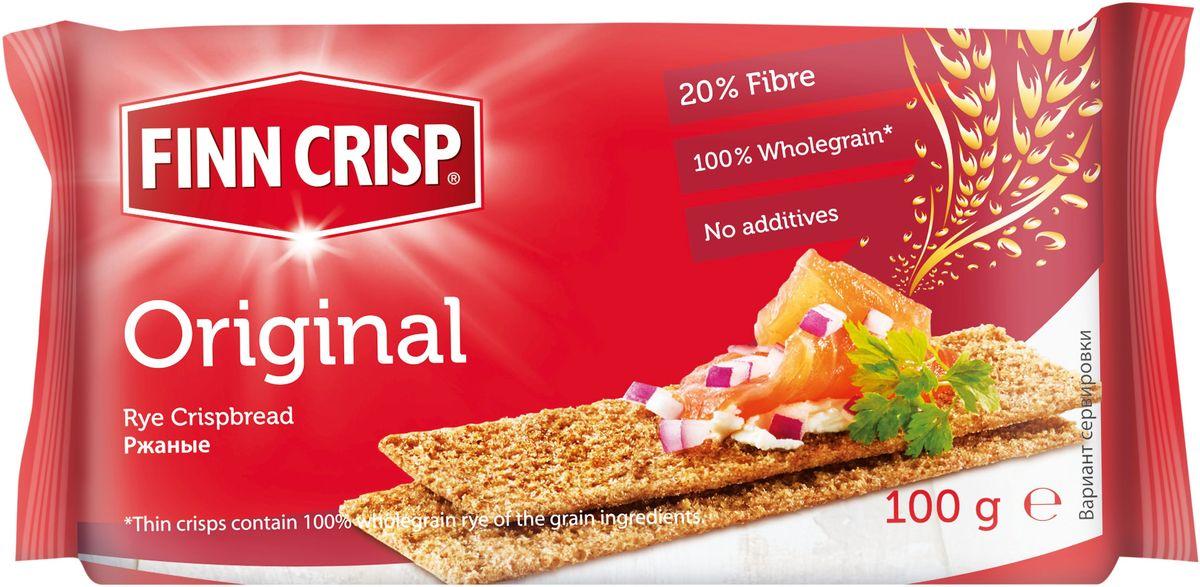 Finn Crisp Original хлебцы ржаные, 100 г