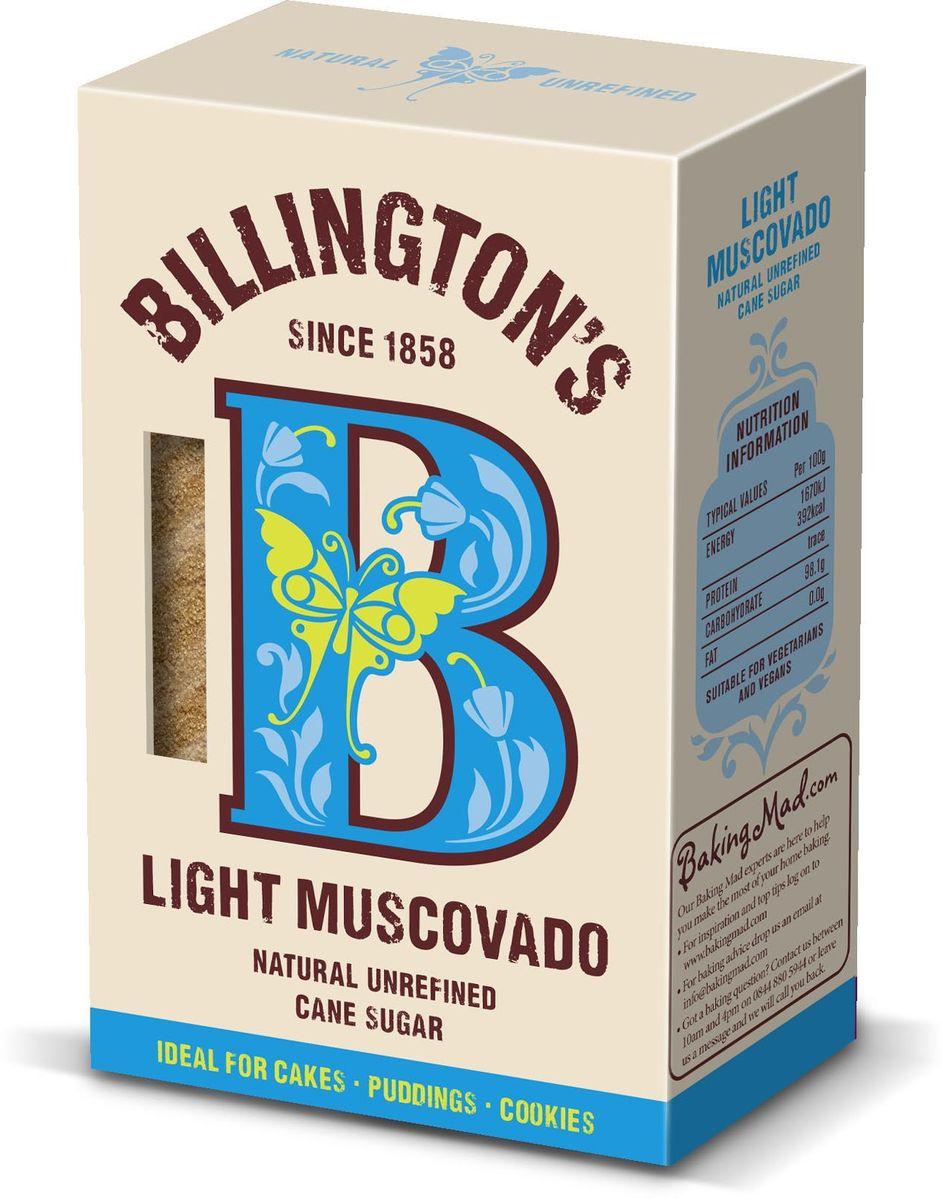 Billingtons Light Muscovado сахар нерафинированный, 500 г28114