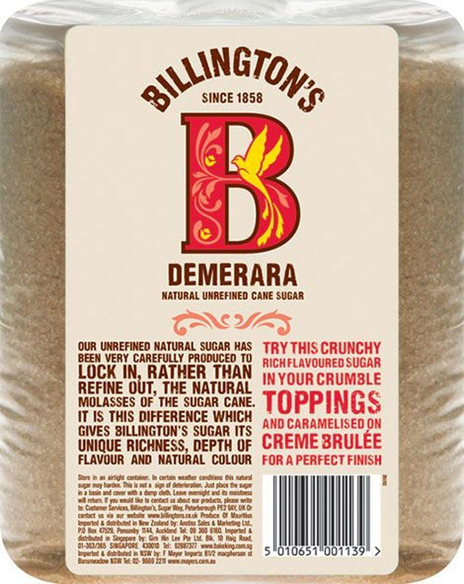 Billingtons Demerara сахар нерафинированный, 3 кг28117