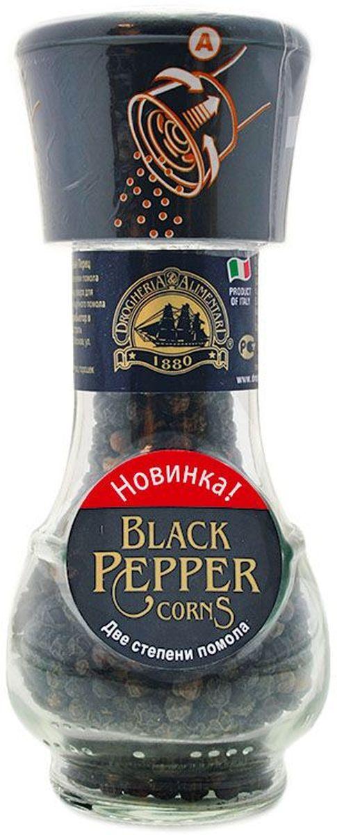 Drogheria е Alimentari мельница две степени помола черный перец, 46 г