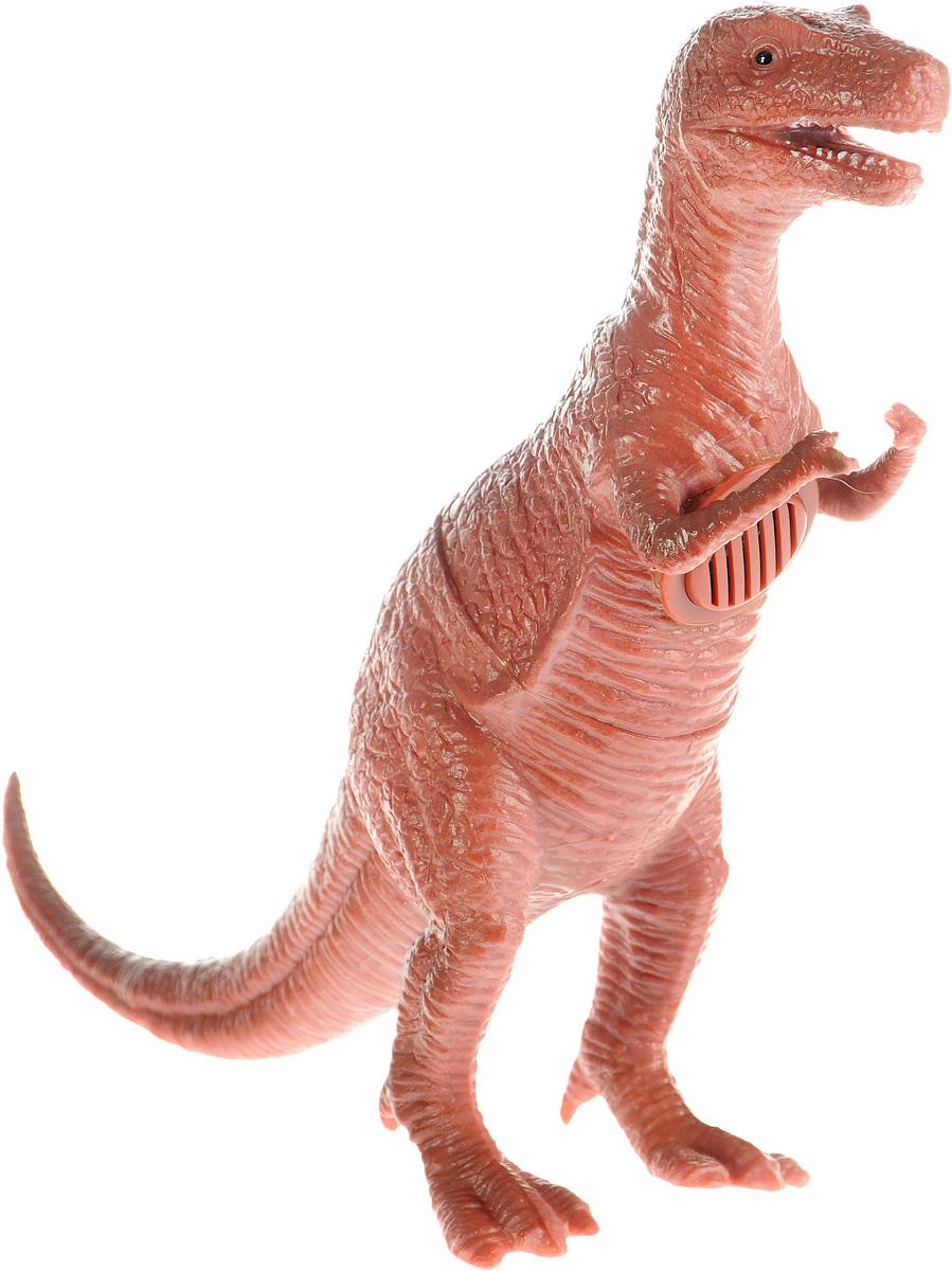 Играем вместе Фигурка Динозавр цвет коричневыйHT386IC_коричневыйФигурка Играем вместе Динозавр очень реалистично выглядит. К тому же, фигурка еще и озвучена. С такой игрушкой маленький натуралист сможет полностью погрузиться в атмосферу древней эры динозавров. Коллекция игрушек Рассказы о животных создана специально для маленьких любителей животных, она рассказывает и показывает различных обитателей нашей планеты, в том числе и тех, кто жил много миллионов лет назад, как этот динозавр. Игрушка работает от незаменяемых батареек.