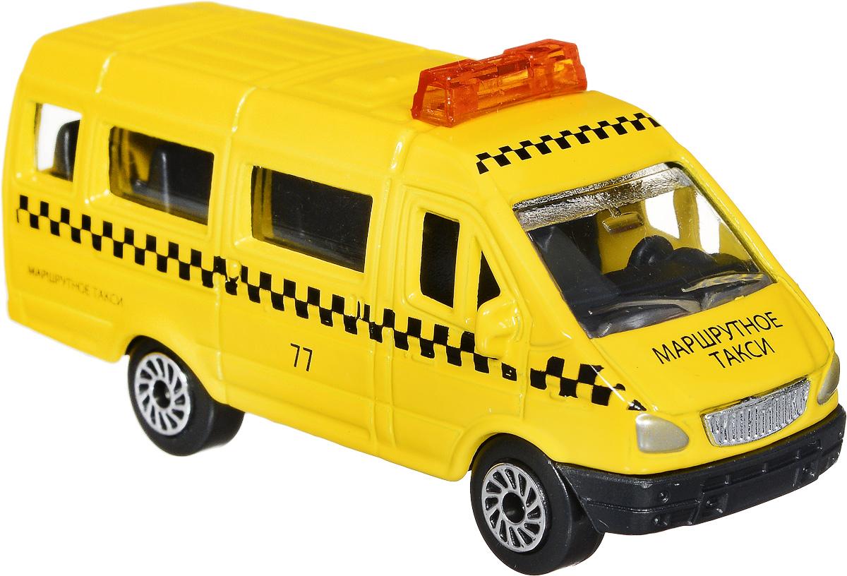 ТехноПарк Модель автомобиля Газель Маршрутное такси масштаб 1:72SB-13-09-G(WB)_желтыйМодель автомобиля ТехноПарк Газель. Маршрутное такси - это миниатюрная копия настоящей машины в масштабе 1:72. Выполненная из высококачественных материалов, она обязательно понравится не только ребенку, но и взрослому. Игрушечная модель с высокой детализацией оснащена металлическим корпусом и подвижными колесами. Машинка является отличным подарком для юного гонщика или взрослого коллекционера техники. Во время игры с такой машинкой у ребенка развиваются мелкая моторика рук, фантазия и воображение.