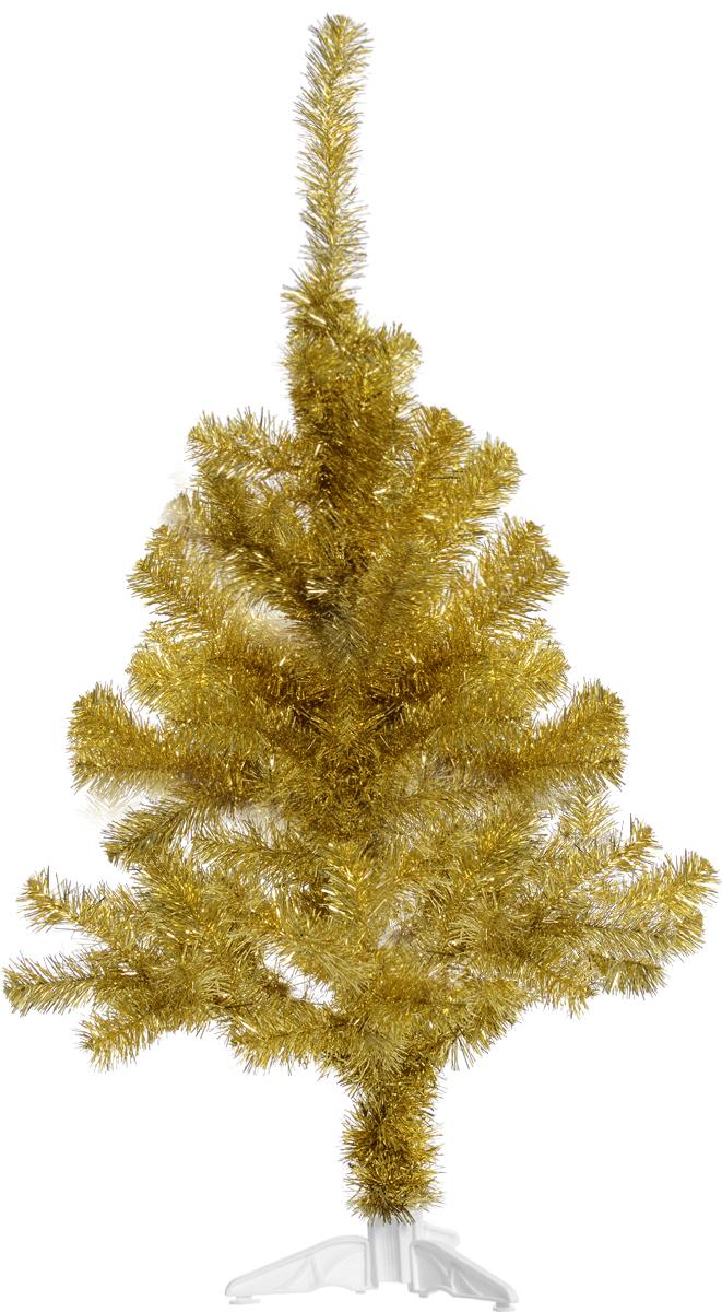 Ель искусственная Morozco Северное сияние, цвет: золотистый, высота 120 см0712зИскусственная ель Северное сияние - прекрасный вариант для оформления вашего интерьера к Новому году. Такие деревья абсолютно безопасны, удобны в сборке и не занимают много места при хранении. Ель состоит из верхушки, сборного ствола и устойчивой подставки. Ель быстро и легко устанавливается и имеет естественный и абсолютно натуральный вид, отличающийся от своих прототипов разве что совершенством форм и мягкостью иголок. Еловые иголочки не осыпаются, не мнутся и не выцветают со временем. Полимерные материалы, из которых они изготовлены, не токсичны и не поддаются горению. Ель Morozco обязательно создаст настроение волшебства и уюта, а также станет прекрасным украшением дома на период новогодних праздников.