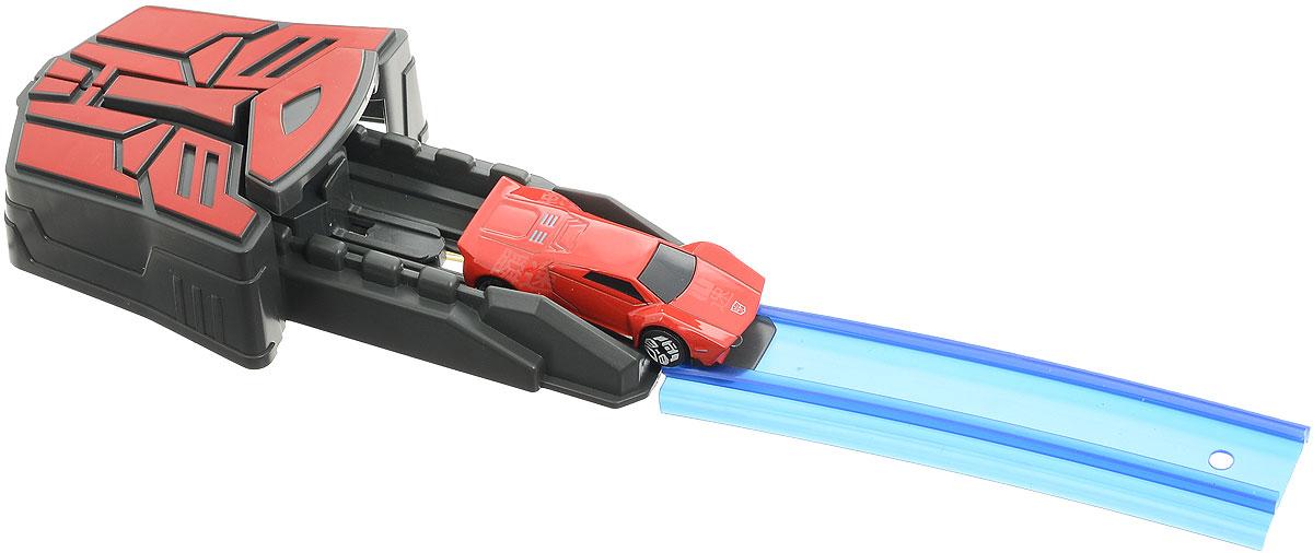 Dickie Toys Ускоритель Автобот с машинкой цвет красный3113008_красный/красныйИграя с машинками, для мальчишек очень важно видеть, как они быстро ускоряются и ездят по поверхности. Поэтому в наборе Dickie Toys Ускоритель Автобот производители предусмотрели сразу и транспортное средство, и трек с ускорителем. Но еще большее внимание детей привлечёт тот факт, что машинка очень похожа на героя популярного детского мультфильма Transformers: Robots in Disguise. Для запуска машинку необходимо разместить на специальном треке, а потом нажать на кнопку, чтобы придать ей ускорение, и она быстро поедет вперед. Этот набор обязательно понравится маленькому поклоннику Трансформеров!
