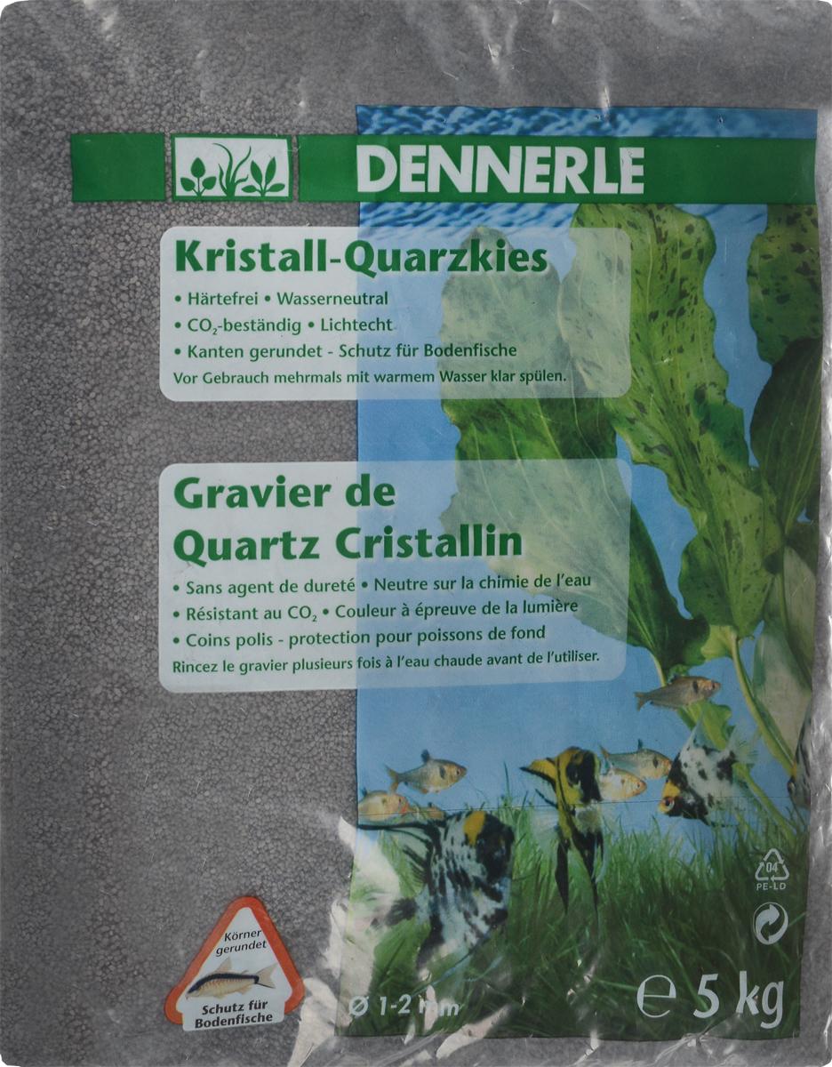 Грунт для аквариума Dennerle Kristall-Quarz, натуральный, цвет: темно-серый, 1-2 мм, 5 кгDEN1748Натуральный грунт Dennerle Kristall-Quarz предназначен специально для оформления аквариумов. Изделие готово к применению. Натуральный гравий имеет округлую форму зерна, поэтому он безопасен для донных рыб. Гравий является светостойким, он устойчив к CO2, нейтрален к воде. . Грунт  Dennerle  порадует начинающих любителей природы и самых придирчивых дизайнеров, стремящихся к созданию нового, оригинального. Такая декорация придутся по вкусу и обитателям аквариумов и террариумов, которые ещё больше приблизятся к природной среде обитания. Фракция: 1-2 мм. Объем: 5 кг.