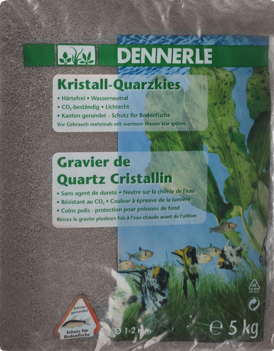 Грунт для аквариума Dennerle Kristall-Quarz, натуральный, цвет: темно-коричневый, 1-2 мм, 5 кгDEN1744Натуральный грунт Dennerle Kristall-Quarz предназначен специально для оформления аквариумов. Изделие готово к применению. Натуральный гравий имеет округлую форму зерна, поэтому он безопасен для донных рыб. Гравий является светостойким, он устойчив к CO2, нейтрален к воде. Грунт Dennerle порадует начинающих любителей природы и самых придирчивых дизайнеров, стремящихся к созданию нового, оригинального. Такая декорация придется по вкусу и обитателям аквариумов и террариумов, которые ещё больше приблизятся к природной среде обитания. Фракция: 1-2 мм. Объем: 5 кг.