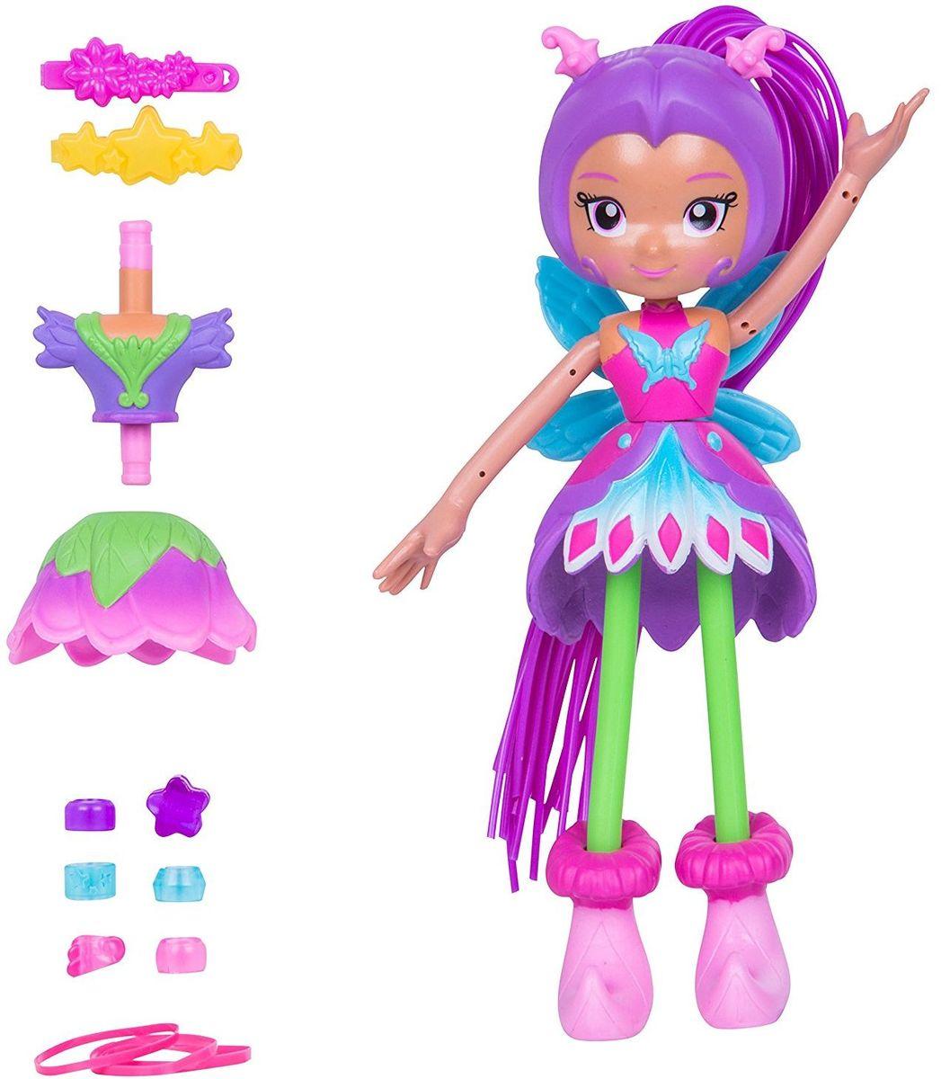 Moose Мини-кукла Бабочка Люси59012/ast59016Мини-кукла Moose Бабочка Люси выглядит ярко и привлекательно. Яркий костюм бабочки выполнен в розовом, фиолетовом и голубом цветах. На спине куклы находятся красивые голубые крылышки. Длинные волосы куклы можно отстегивать. При помощи входящих в комплект заколок, резинок и бусин кукле можно делать всевозможные прически. Благодаря съемным деталям одежды из бабочки Люси легко можно сделать цветочную Люси в юбке, напоминающей цветок. Руки и ноги Люси могут гнуться, что является особенностью серии Betty Spaghetty.