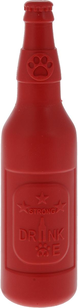 Игрушка для собак крупных пород Triol Мега-Бутылка, 6 х 6 х 23 смTPR23Игрушка для собак крупных пород Triol Мега-Бутылка выполнена в форме бутылки. Эта долгоиграющая игрушка изготовлена из инновационной термопластичной резины повышенной прочности и станет идеальным решением для четвероногих обладателей крепких зубов и мощных челюстей. Игрушка не тонет в воде и отлично подойдет для активной игры.