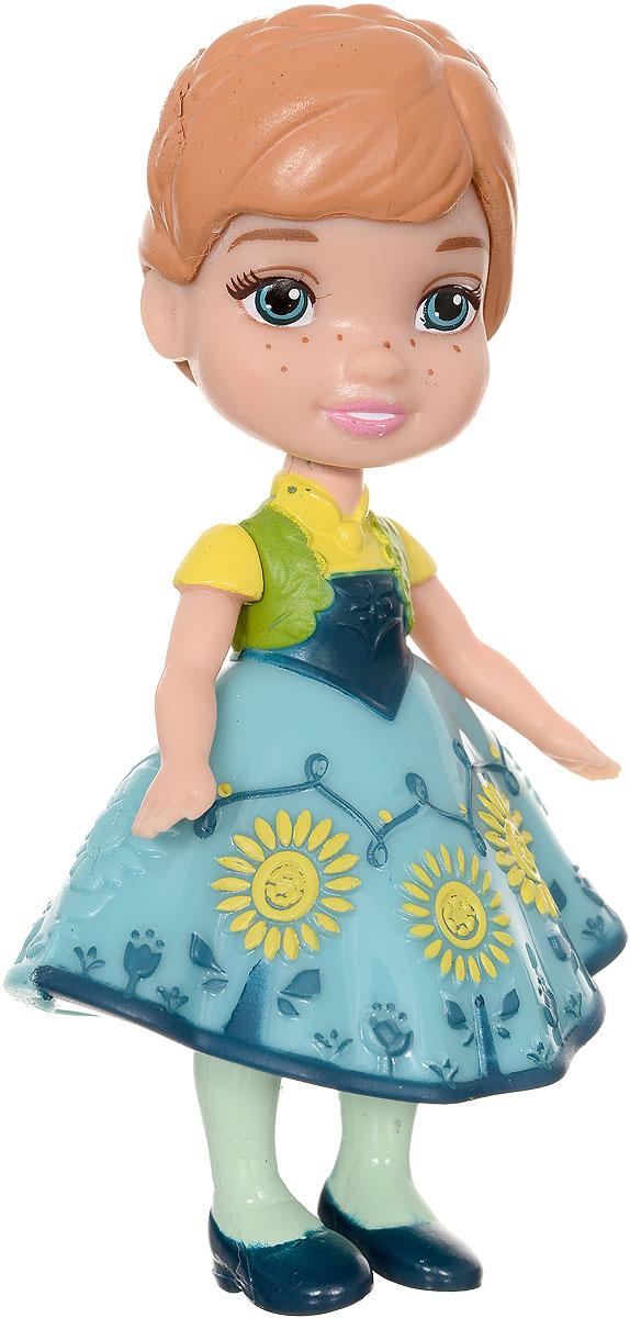 Disney Frozen Мини-кукла Анна цвет платья бирюзовый758960_вид 2Кукла-малышка Disney Frozen Анна из мультфильма Холодное сердце, непременно понравится вашей дочурке. Кукла в виде прекрасной принцессы полностью выполнена из пластика. На Анне короткое бирюзовое платье, а на ножках - синие туфельки. Ручки, ножки и голова у куколки подвижные. Такая куколка очарует вас и вашу дочурку с первого взгляда! Ваша малышка с удовольствием будет играть с Принцессой Анной, проигрывая сюжеты из мультфильма или придумывая различные истории. Порадуйте свою дочурку таким замечательным подарком!