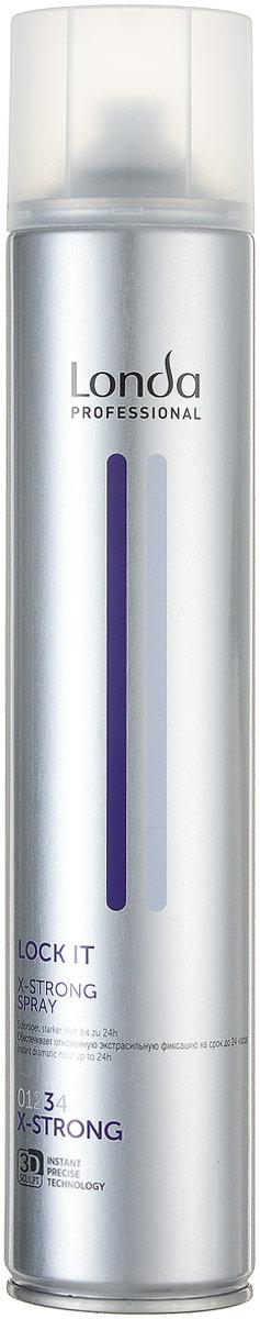 LC СТАЙЛИНГ Лак NEW д/волос экстрасильной фиксац.LOCK IT 500 мл0990-81545252Профессиональный быстросохнущий лак Londa Lock с микрополимерами 3D-Sculpt предназначен для моментальной и долговременной фиксации. Содержит пантенол для увлажнения волос.