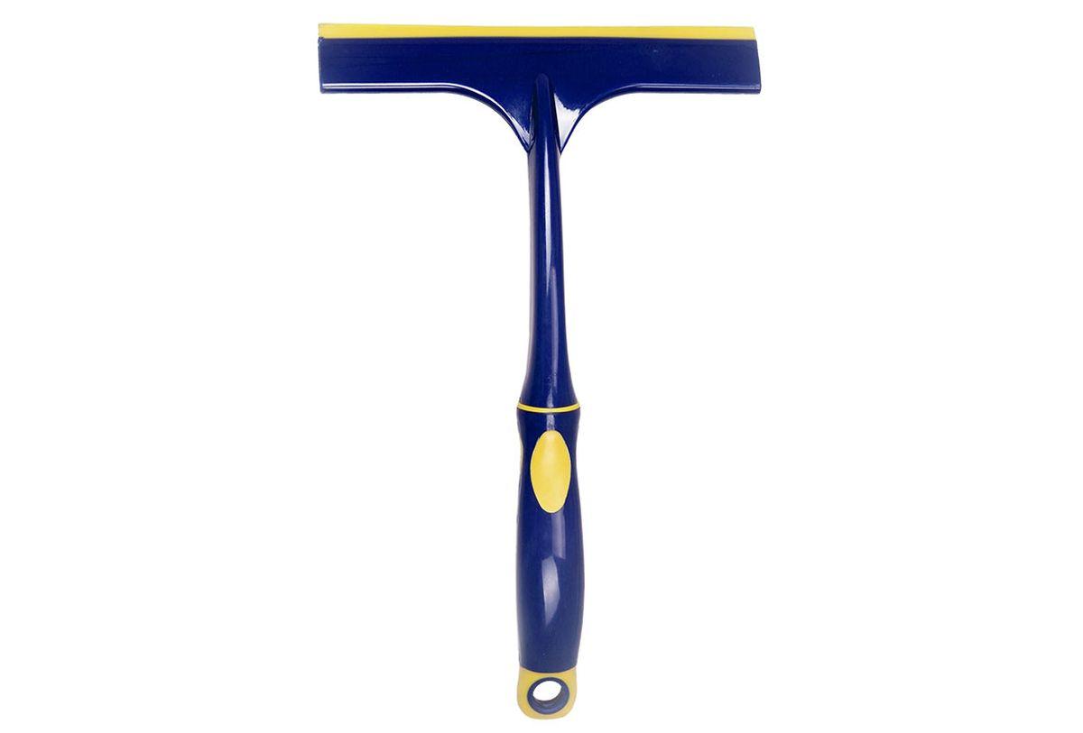 Водосгон Goodyear WC-02, с силиконовым лезвием, цвет: синий, желтый, 26 х 16 см