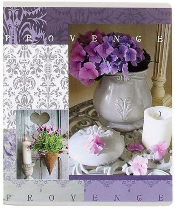 Полиграфика Тетрадь, 96л Provence свеча с фиалкой35489_свечаПолиграфика Тетрадь, 96л Provence свеча с фиалкой
