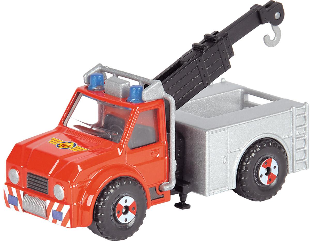 Dickie Toys Пожарная машинка Phoenix3093000_пожарная машина 2Главный элемент технического оснащения пожарной команды - конечно, красная пожарная машина! Пожарная машина Dickie Toys Phoenix выполнена в реалистичном стиле и оснащена декоративными элементами - парой синих маячков, брандспойтом, окошками, закрытыми жалюзи. Кабина застеклена. Имеются 3 пары колес. Машинка изготовлена из прочных, качественных и безопасных материалов, аккуратно раскрашена яркими красками. Пополните коллекцию моделей пожарной техники другими игрушками из серии Пожарный Сэм и организуйте собственную пожарную станцию!