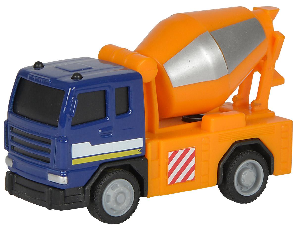 Dickie Toys Бетономешалка City Crew3340002_бетономешалкаБетономешалка Dickie Toys City Crew привлечет внимание вашего ребенка и не позволит ему скучать. Игрушка выполнена из прочного пластика в виде хорошо детализированной бетономешалки. Цилиндр и колеса у машины крутятся. Ваш ребенок сможет часами играть с таким транспортом, придумывая разные истории. Порадуйте его таким замечательным подарком!