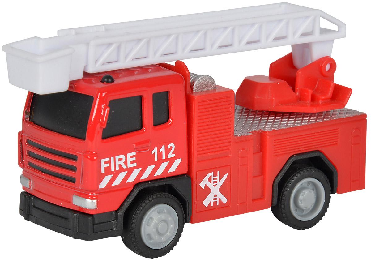 Dickie Toys Пожарная машинка City Crew3340002_пожарная машина 2Главный элемент технического оснащения пожарной команды - конечно, красная пожарная машина! Пожарная машина Dickie Toys City Crew выполнена в реалистичном стиле и оснащена декоративными элементами - парой маячков и застекленной кабиной. Также машина имеет свободный ход колес и выдвижную лестницу. Машинка изготовлена из прочных, качественных и безопасных материалов, аккуратно раскрашена яркими красками. Ваш ребенок сможет часами играть с пожарной машиной, придумывая разные истории. Порадуйте его таким замечательным подарком!