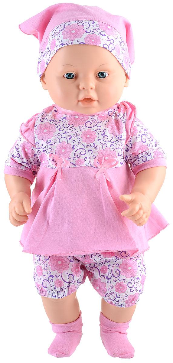 Весна Пупс Влада цвет одежды розовыйВ1913Пупс Весна Влада может стать настоящей подружкой для ребенка. Кукла очень похожа на настоящего ребенка, с милым личиком, детскими припухлостями, ее так и хочется взять на ручки и позаботиться о ней. Спокойное, приятное выражение лица способствует эмоциональному развитию ребенка. Влада одета в нежное платье, косынку и пинетки. Спереди у платья на текстильной ленточке висит пустышка. Продуманная конструкция куклы позволяет ее сажать, укладывать спать, переодевать. Кукла подходит для сюжетных игр и разнообразных игровых действий ребенка.