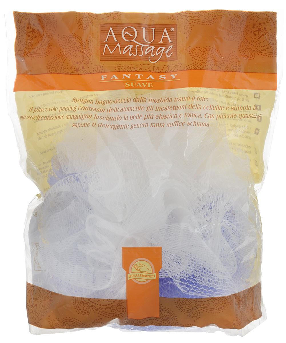 Мочалка Arix, с массажным эффектом, цвет: фиолетовый, белый, 15 х 12 х 17 смAR958_фиолетовый, белыйМочалка Arix, изготовленная из синтетических волокон, превосходно массажирует, тонизирует и очищает кожу без раздражения. Делает ее эластичной и гладкой. Используется даже с минимальным количеством мыла, образуя много пены. Изделие оснащено петелькой для удобного подвешивания в ванне.