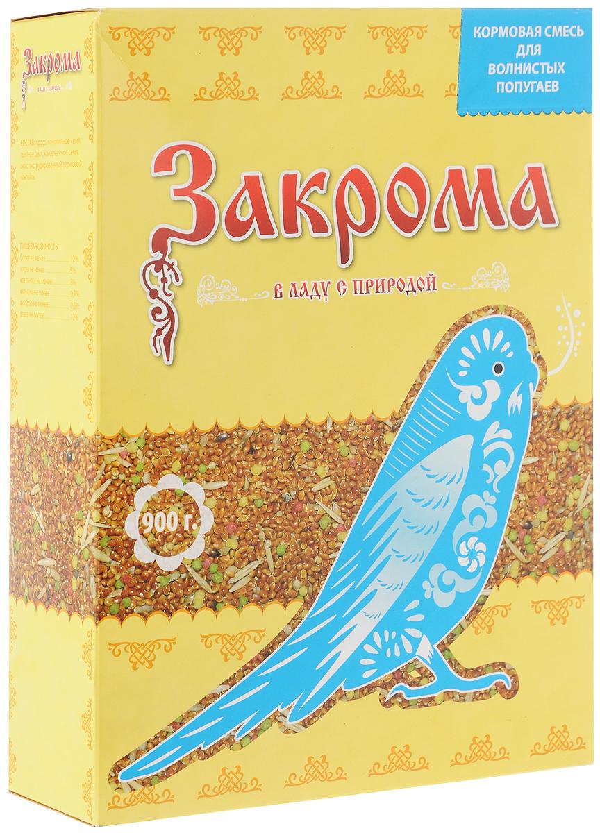 """Корм для волнистых попугаев """"Закрома"""", 900 г 4620770270081"""